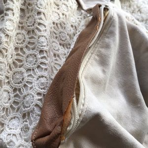 Tilly's Bags - Cream and Brown Backpack